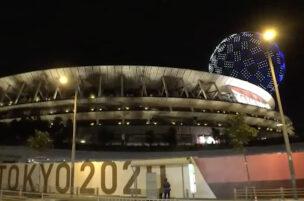 ドローンプレスドローンショーオリンピック